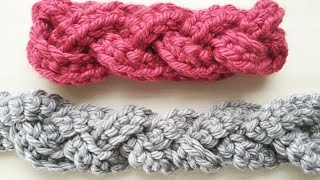 Crochet How To: Faux Cabled Headband