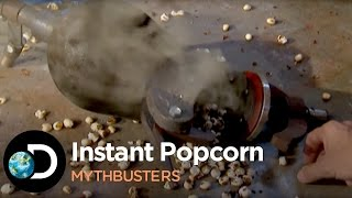 getlinkyoutube.com-How To Make Instant Popcorn | Mythbusters