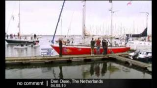 getlinkyoutube.com-Laura Dekker: the youngest person to sail the world solo - no comment
