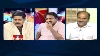 getlinkyoutube.com-Debate On Y S Jagan Deeksha For AP Special Status  | HMTV Left and Right-1