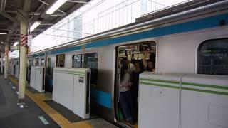 getlinkyoutube.com-山手線ホームに京浜東北線E233系がくると...