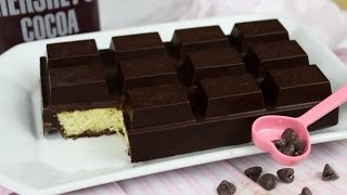 getlinkyoutube.com-How to Make a Chocolate Bar Cake!