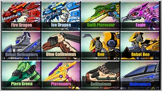 getlinkyoutube.com-Dino Robot Corps - Air Forces Edition - Android Game Play 1080 HD Game Show