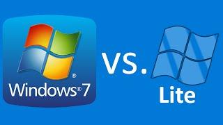 getlinkyoutube.com-Windows 7 vs. Windows 7 LITE