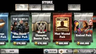 getlinkyoutube.com-WWE Immortals 10 Most Wanted packs + World pack