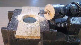 getlinkyoutube.com-ホールソーを使い木材に穴をあける ホールソーの使用方法 ・使い方 【DIY・日曜大工・道具・工具】