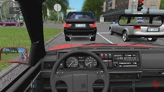 getlinkyoutube.com-City Car Driving - Volkswagen Golf II GTI   Street Racing