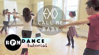 "getlinkyoutube.com-EXO ""Call Me Baby"" Dance Tutorial (Chorus)"
