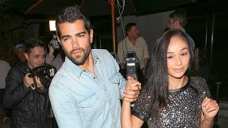 Cara Santana And Jesse Metcalfe Hold Each Other Tight After Dinner