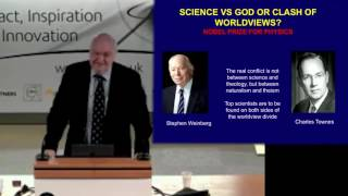 John Lennox Talk: Cosmic Chemistry: Do Science and God mix?
