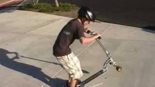 getlinkyoutube.com-Razor Scooter tricks