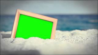 Beach Footage Green Screen HD