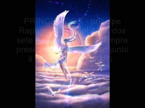 AS NOVE CATEGORIAS DOS ANJOS (HIERARQUIA ANGELICAL)