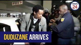 WATCH: The moment Duduzane Zuma arrived at court width=