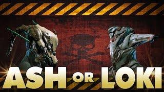 getlinkyoutube.com-Warframe Ash or Loki? Who is the real ninja!