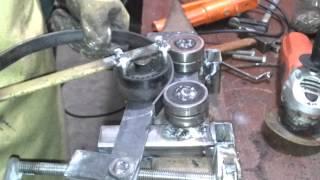 getlinkyoutube.com-Como hacer círculos de hierro