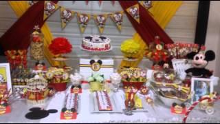 getlinkyoutube.com-Fiesta Temática de Mickey mouse de Zulema's Cakes