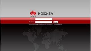getlinkyoutube.com-Cara merubah nama & password wifi modem speedy optik HUAWEI type HG8245A