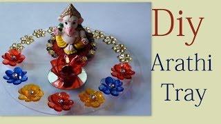 getlinkyoutube.com-Diwali tray making tutorial video