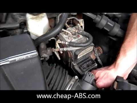 Pontiac Grand Prix ABS Module Removal