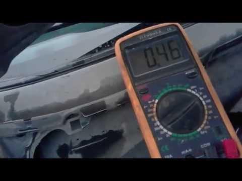 Расположение в Джак S3 датчика кислорода