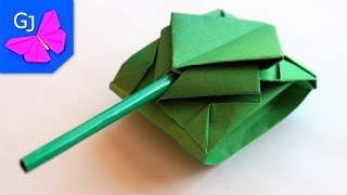 getlinkyoutube.com-Оригами танк