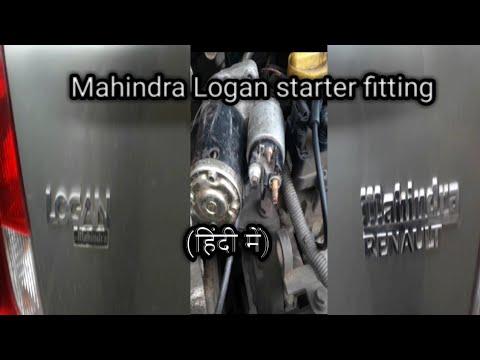 Mahindra Logan starter fitting process Autocar doctor