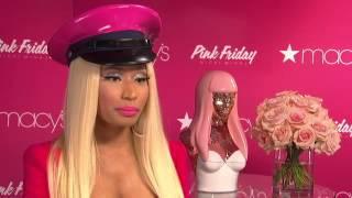 Le lancement du parfum de Nicki Minaj 'Pink Friday'