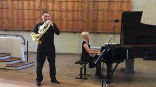 getlinkyoutube.com-Robert Schumann Adagio Allegro Horn