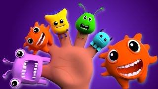 getlinkyoutube.com-Monsters finger family | nursery rhymes | kids songs | children videos