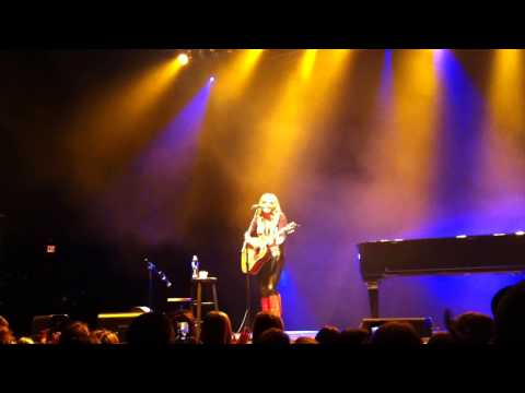 "Grace Potter (Acoustic) - ""Whole Lotta Love"" - (Led Zep Cover) Stage AE - Pittsburgh - 12-12-12"
