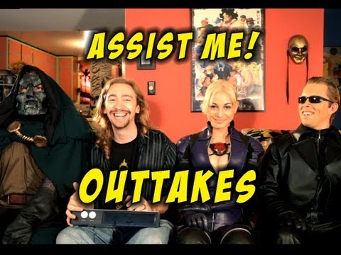 'ASSIST ME!' Jill Outtakes