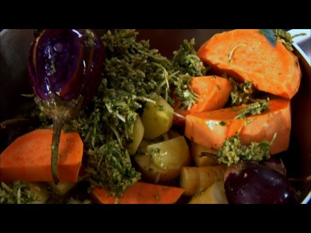 Undhiyo - Vegtable & Coconut Masala - Indian Food Made Easy with Anjum Anand - BBC Food