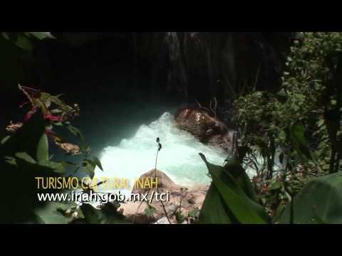 Grutas de Tolantongo. Estado de Hidalgo (Barranca y Cascada) / Turismo Cultural
