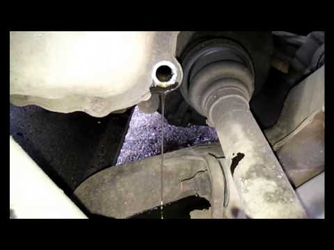 Как проверить уровень масла в механической коробке передач Пежо 406