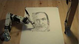 getlinkyoutube.com-Paul the robot drawing Patrick