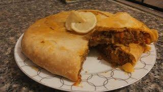 getlinkyoutube.com-بسطيلة بالخضر و الكفتة بعجين المسمن مع طبخ ليلى bastila