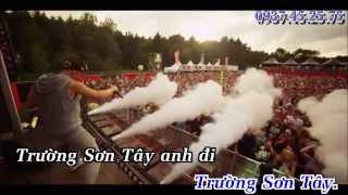 getlinkyoutube.com-[Karaoke] Trường Sơn Đông - Trường Sơn Tây Remix