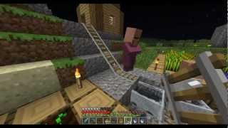 getlinkyoutube.com-Minecraft Survival - Uma Vila Na Minha Casa! Ep. 25