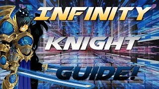 AQW: Infinity Knight Class Guide! ( Over 70k DoT!, Combos, Enhancements, Solo, Review)