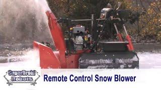 getlinkyoutube.com-Remote Control Snow Blower