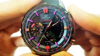 getlinkyoutube.com-AMAZING CASIO EDIFICE WATCH ERA-300B-1AV UNBOXING