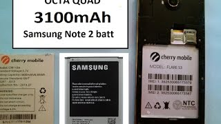 Cherry Mobile Flare S3 3100mAh Battery using Samsung Note 2