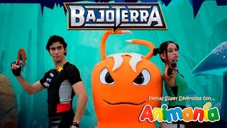 getlinkyoutube.com-Show Infantil Bajoterra - Animania Show