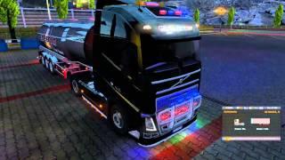 getlinkyoutube.com-Neon MOD v2 para todos los camiones | Euro truck simulator 2 | 1.10.x -- 1.11.x