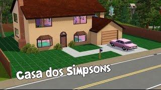 The Sims 3 | Construindo a Casa dos Simpsons (Simpsons House)