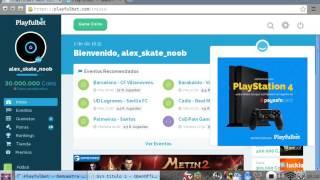 getlinkyoutube.com-Hack 30.000.000 de coins en playfulbet  2016