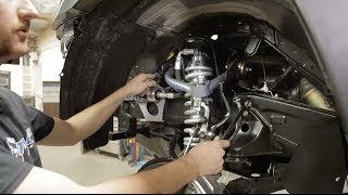 getlinkyoutube.com-How to install UCA's and Coilovers on a Toyota Tacoma in 14 min