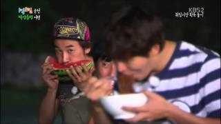 getlinkyoutube.com-[1N2D ss2 ep77] [cc] Joo Won eats black bean paste noodle