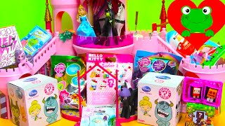 getlinkyoutube.com-Surprise Unboxing Kinder BFF MLP Minecraft Peppa and Disney Maleficent